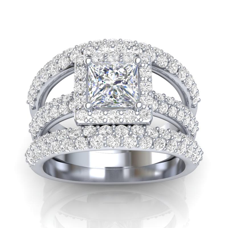 exquisite diamond bridal jewelry